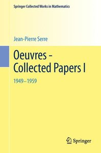 Oeuvres - Collected Papers I