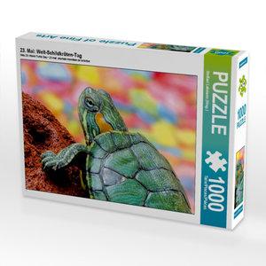 23. Mai: Welt-Schildkröten-Tag 1000 Teile Puzzle quer