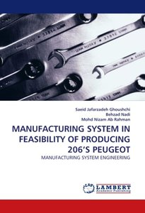 MANUFACTURING SYSTEM IN FEASIBILITY OF PRODUCING 206'S PEUGEOT