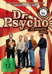 Dr. Psycho Box, 4 DVDs