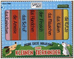 Meine erste Bibliothek - Meine kleinen Tierkinder, 8 Bde.