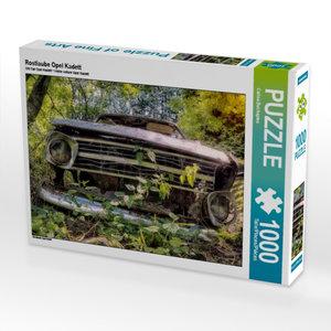 Rostlaube Opel Kadett 1000 Teile Puzzle quer