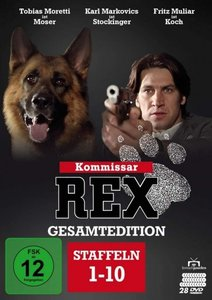 Kommissar Rex - Gesamtedition, 28 DVD