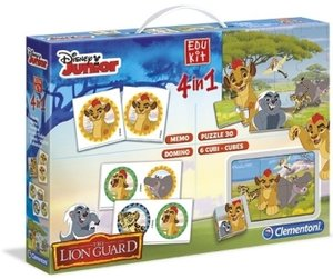 Edu Kit 4 in 1 (Kinderspiel), Die Garde der Löwen / The Lion Gua
