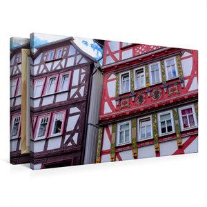 Premium Textil-Leinwand 75 cm x 50 cm quer Oberstadt