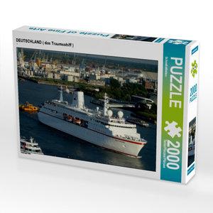 DEUTSCHLAND ( das Traumschiff ) 2000 Teile Puzzle quer