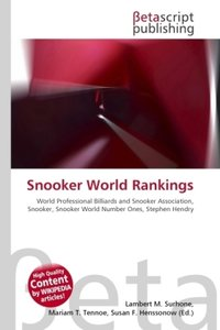 Snooker World Rankings