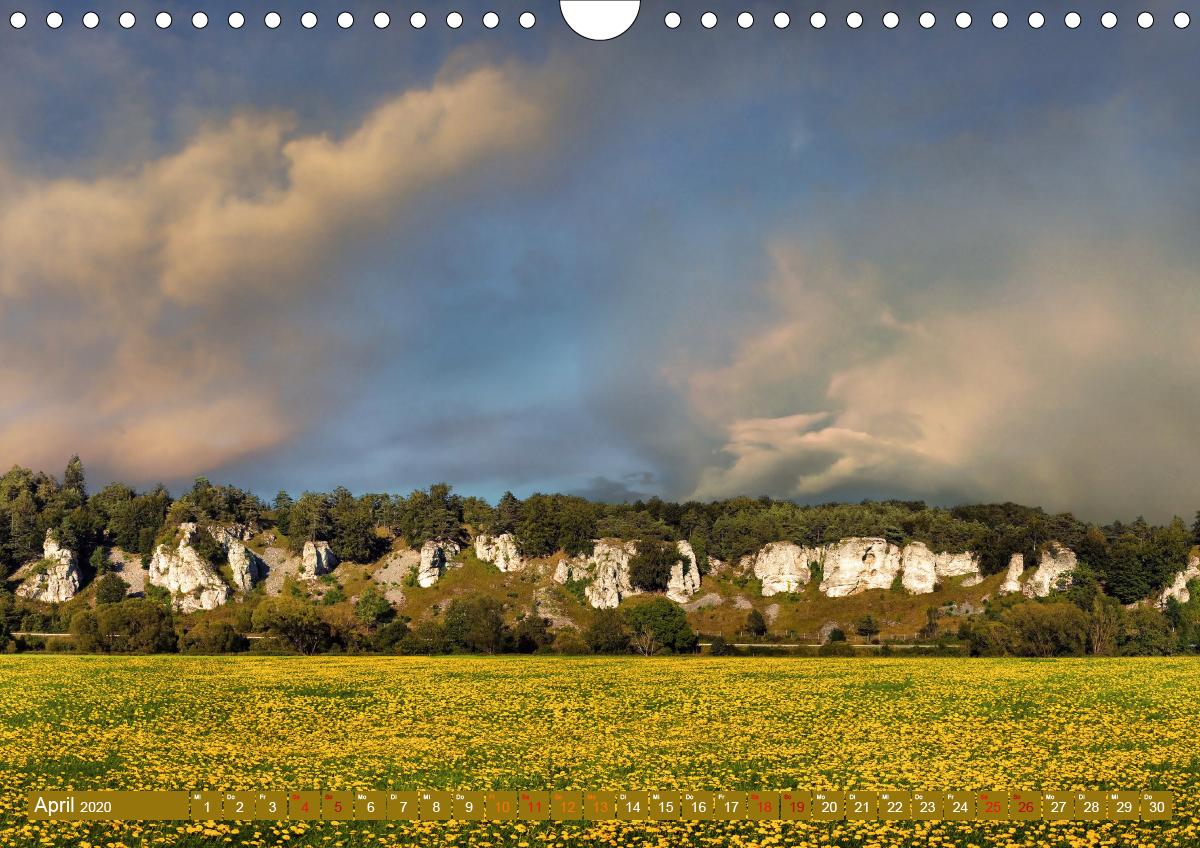 Landschaften im Altmühltal (Wandkalender 2020 DIN A4 quer) - zum Schließen ins Bild klicken