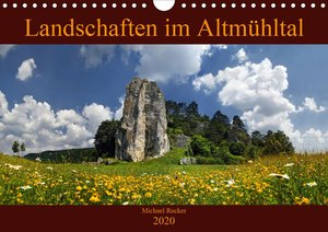 Landschaften im Altmühltal (Wandkalender 2020 DIN A4 quer)