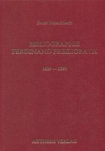 Bibliographie Ferdinand Freiligrath