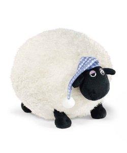 NICI 41468 - Shaun Das Schaf Kuscheltier Shirley mit Schlafmütze