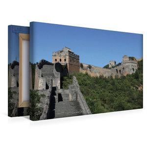 Premium Textil-Leinwand 45 cm x 30 cm quer Die Große Mauer bei J