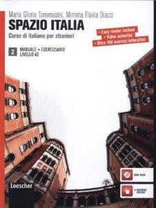 Spazio Italia 2 (incl. CD-Rom). Libro Dello Studente Manuale et
