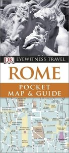 DK Eyewitness Travel Pocket Map & Guide: Rome