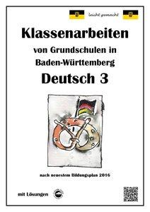 Klassenarbeiten von Grundschulen in Baden-Württemberg - Deutsch