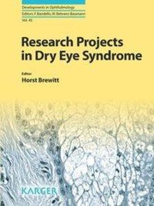 Research Projects in Dry Eye Syndrome