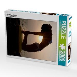 Yoga Körperformen 2000 Teile Puzzle hoch