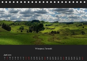 Aotearoa - Land der langen weißen Wolke (Tischkalender 2019 DIN