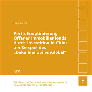 Portfoliooptimierung Offener Immobilienfonds durch Investition i