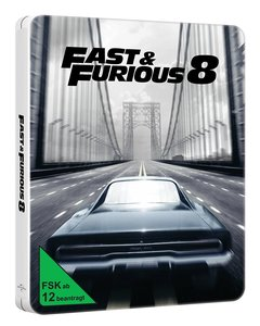 Fast & Furious 8 - Limited Steelbook