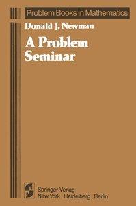 A Problem Seminar