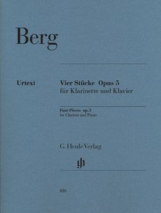 Vier Stücke für Klarinette und Klavier op. 5