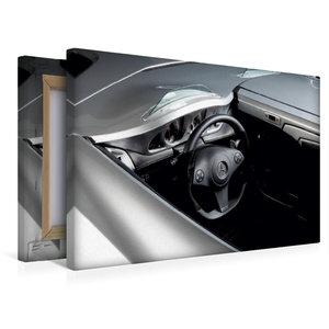 Premium Textil-Leinwand 45 cm x 30 cm quer Stirling Moss