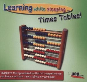 Learning while sleeping... times-tables! Audio-CD
