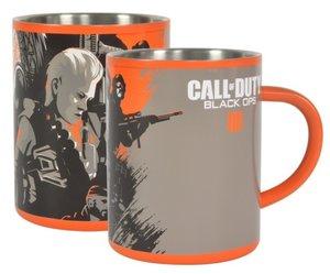 Call of Duty Black Ops 4, Tasse aus Edelstahl, Steel Mug, 300 ml