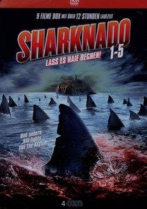 Sharknado 1-5 Limited-Metallbox Collection (4 DVD)