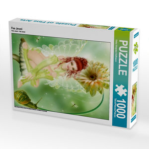 Fee Jewel 1000 Teile Puzzle hoch