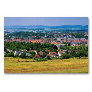 Premium Textil-Leinwand 90 cm x 60 cm quer Goslar