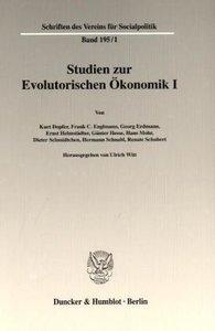 Studien zur Evolutorischen Ökonomik I