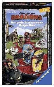 Ravensburger 234325 - Dragons - Das große Drachenrennen - Mitbri