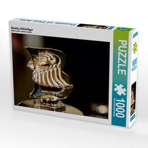 Bentley Kühlerfigur 1000 Teile Puzzle quer
