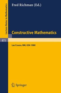 Constructive Mathematics