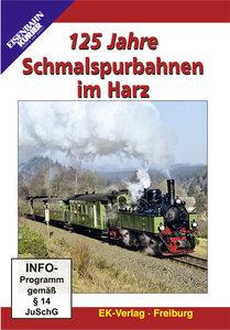 125 Jahre Schmalspurbahnen im Harz, 1 DVD