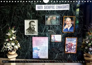 Adios Fidel - Abschied von einer Ikone (Wandkalender 2019 DIN A4