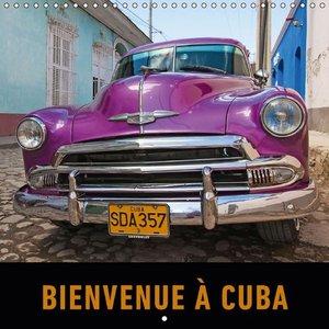 Bienvenue à Cuba (Calendrier mural 2015 300 × 300 mm Square)