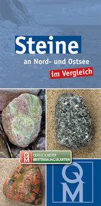 Steine an Nord- und Ostsee im Vergleich