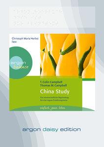China Study (DAISY Edition)