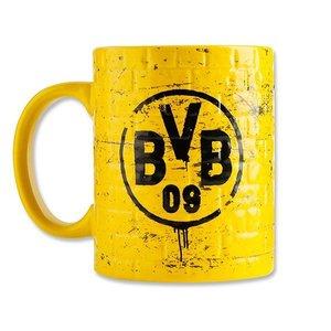 BVB 16701500 - KAFFEEBECHER TASSE POTT Gelbe Wand