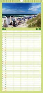 Magisches Sylt - Familienplaner hoch (Wandkalender 2020 , 21 cm