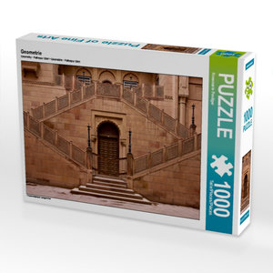 Geometrie 1000 Teile Puzzle quer