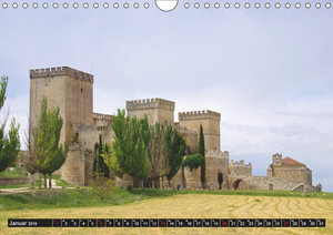 Burgen in Spanien (Wandkalender 2019 DIN A4 quer)