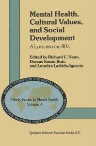 Mental Health, Cultural Values, and Social Development