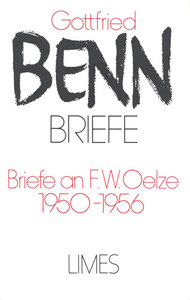 Briefe II/2. Briefe an F. W. Oelze 1950-1956