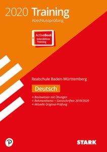 Training Abschlussprüfung Realschule 2020 - Deutsch - BaWü