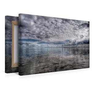 Premium Textil-Leinwand 45 cm x 30 cm quer Wolkenspiel
