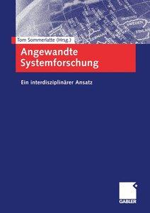 Angewandte Systemforschung